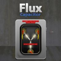 Flux Capacitor Time Machine by cavemanmac