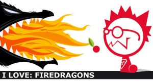 i love: firedragons by dheny