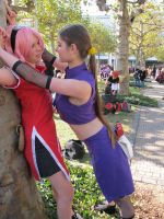 Ino x Sakura 3 by YaminiZouren-Photos