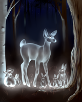 spirits of the forest by nevaeh-lee