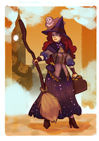 me as a witch! for the witchsona on tumblr by audreymolinatti