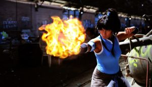 Legend of Korra: Avatar Element Fire by K-tetsu