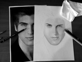 Joey Graceffa WIP by Kenza-san