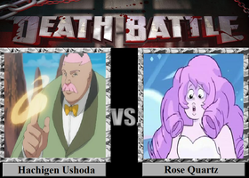 Hachigen Ushoda Vs. Rose Quartz by luigiguy54