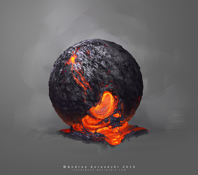 Lava Study by icecold555
