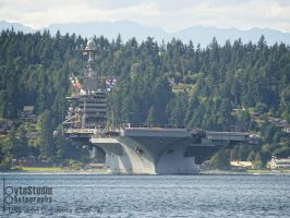 Stennis heading out by ByteStudio