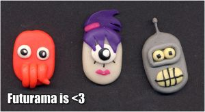 Futurama magnets by Samivil