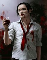 Brian Molko - Vampire by Darkellaine