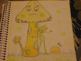 Yellow and green contest entry by lilnativegrl09
