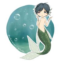 Mermaid!Ciel by fawntrash