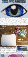 How to Color Fleece Eyes by clearkid
