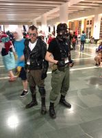 Anime Boston 2013 - Post Apoc Survivors by TujoThePanda