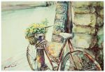 Bicycle on road by 1hama