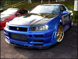 Nissan Skyline R34 GTR by basic-designs
