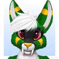 Fluffy Headshot by jamesfoxbr