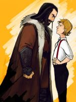 brash little hobbit by Aloira