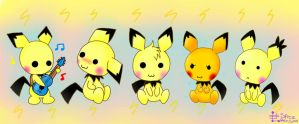 Pichu Party!! by Spice5400