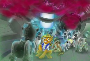 Doctor Whooves and Assistant by alorix