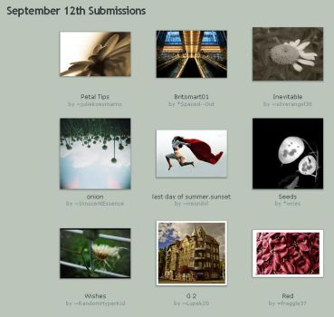 September 12th Submissions by Optimal-Photo