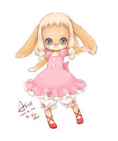 Rabbit Alice by swdd-cat