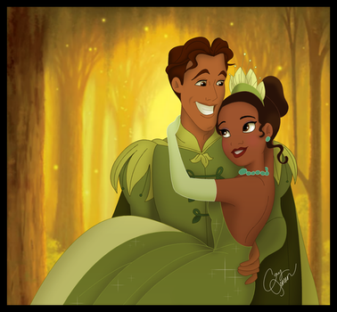 Tiana and Naveen-2 by Cor104