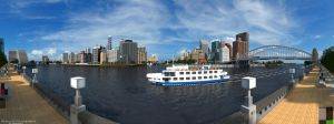 Lapiz Point - Modern City | Riverfront Panorama by MinecraftPhotography