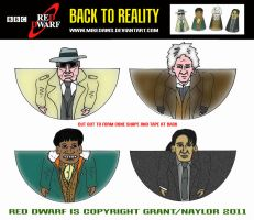 Red Dwarf - Back to Reality by mikedaws