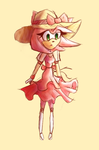 Amy Rose dress by XXsnowman-hugsXX