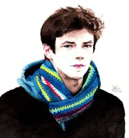 Grant Gustin by tuliipiie