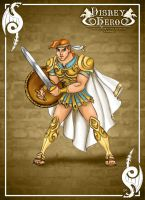Hercules - Disney Hero Designer by LeleDraw by GFantasy92