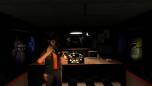 Commanderliam94 plays Five Nights At Freddys by TheNeonInferno