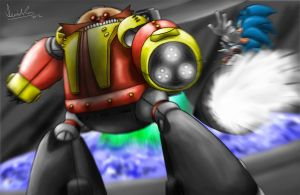 Versus: Sonic vs. Robotnik 2 by Memphiston