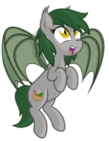 Look, Anon, I can fly again! by VectorVito