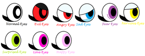 Mixels - Abril's Eyes Emotions by 4br1l