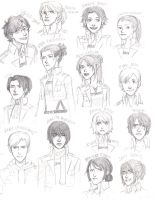 Shingeki no Genderbent by Jazzie560