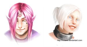 Commissions - Tino and Yumi by cryoclaire