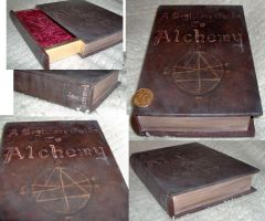 FMA painted book by PockyaddictsTable