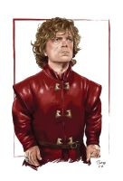Tyrion Lannister by tsantiago
