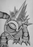 Rammus the Armordillo by Kurososhi13