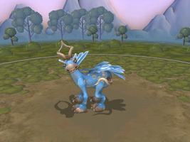 Suicune Spore by novedlove