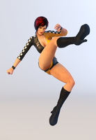 Mila 3DS Render 13 Special Size by x2gon