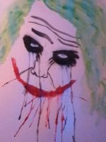 Why So Serious? (Watercolor). by Steeephanie