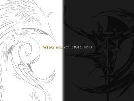 What Will You Fight For? by Demonscar81