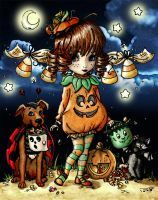 2014 Halloween CP Coloring Contest by diddy2703