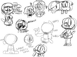 Gumball Doodle Dump by DumberSalts