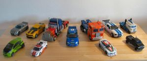 Autobots in alt modes by NouNickName
