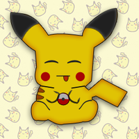 Pikachu:Comment For PSD by MitchNied