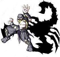 scorpion by bungot