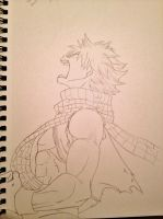 Natsu Dragneel by TheLegacyOfJP