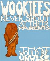 Wookiees Never Shout by DarthMoll